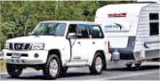 Dial a Driver to Tow a Vehicle Caravan Trailer
